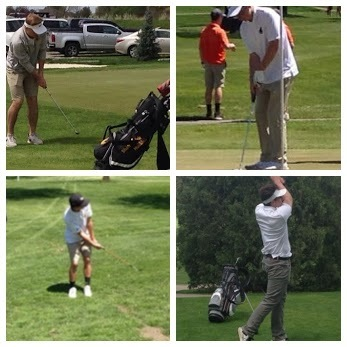 SRC Boys Golf at York and Oakland-Craig Invite