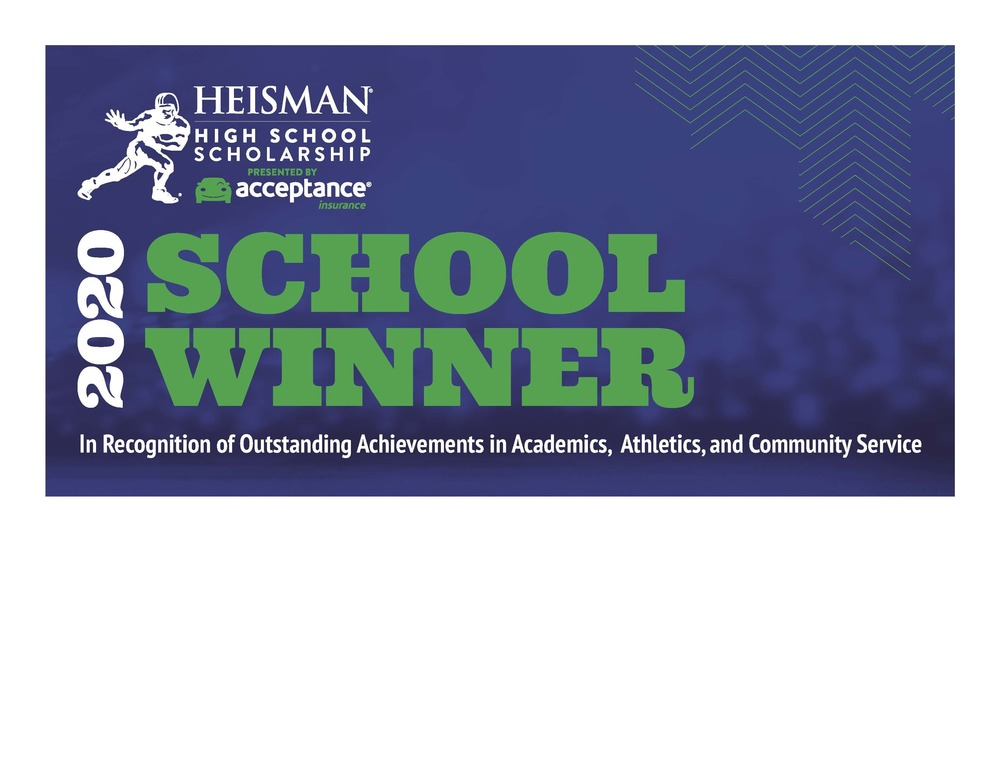 Colin Wingard Named Heisman High School Scholarship School Winner