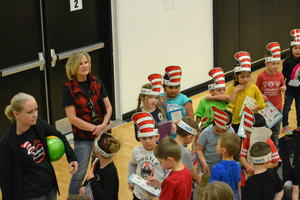 Read Aloud on Dr. Suess Birthday