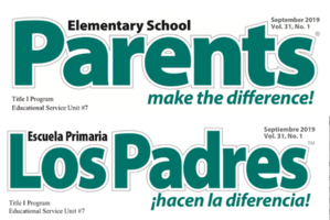 September - Parents Make the Difference!