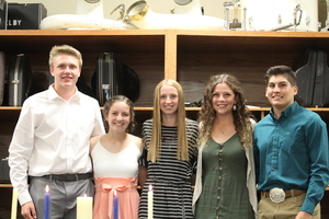 Shelby-Rising City National Honor Society inducts new members