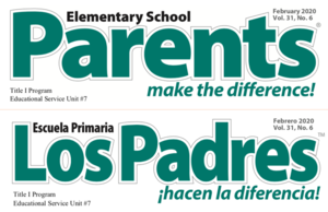 February - Parents Make the Difference!