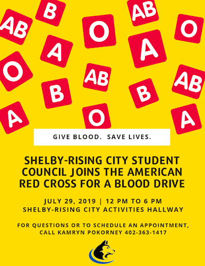 SRC Student Council joins the American Red Cross for a Blood Drive