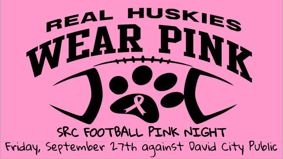 Real Huskies Wear Pink