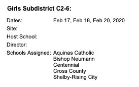 GBB Sub-District