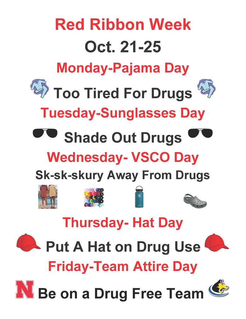 Red Ribbon Week Theme Days